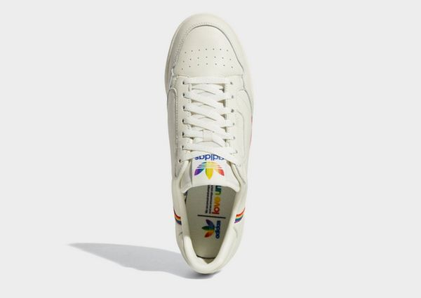 adidas Originals Continental 80 Pride Shoes | JD Sports
