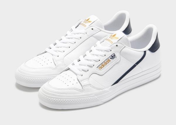 Buy White adidas Originals Continental 80 Vulc | JD Sports