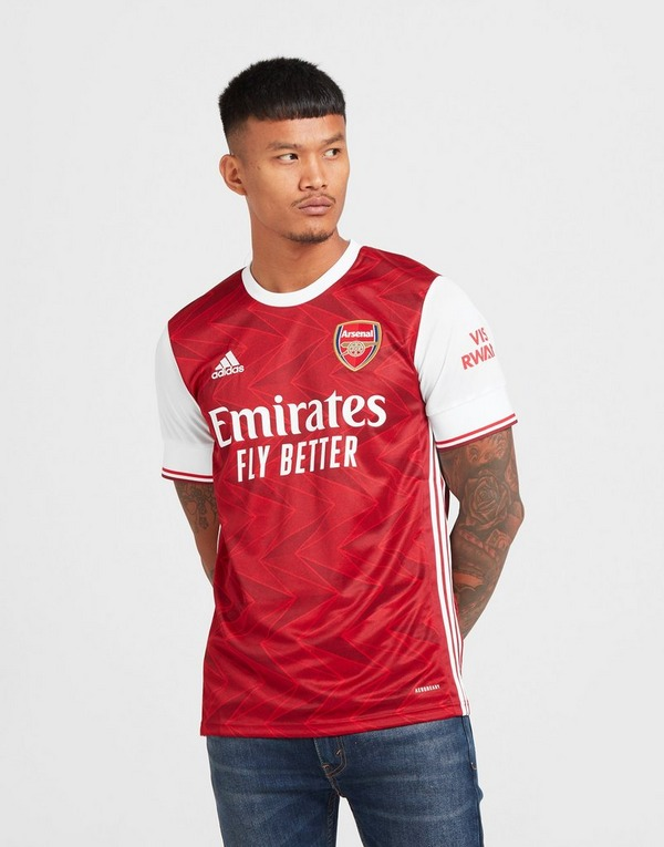 Red adidas Arsenal FC 2021/22 Home Jersey | JD Sports