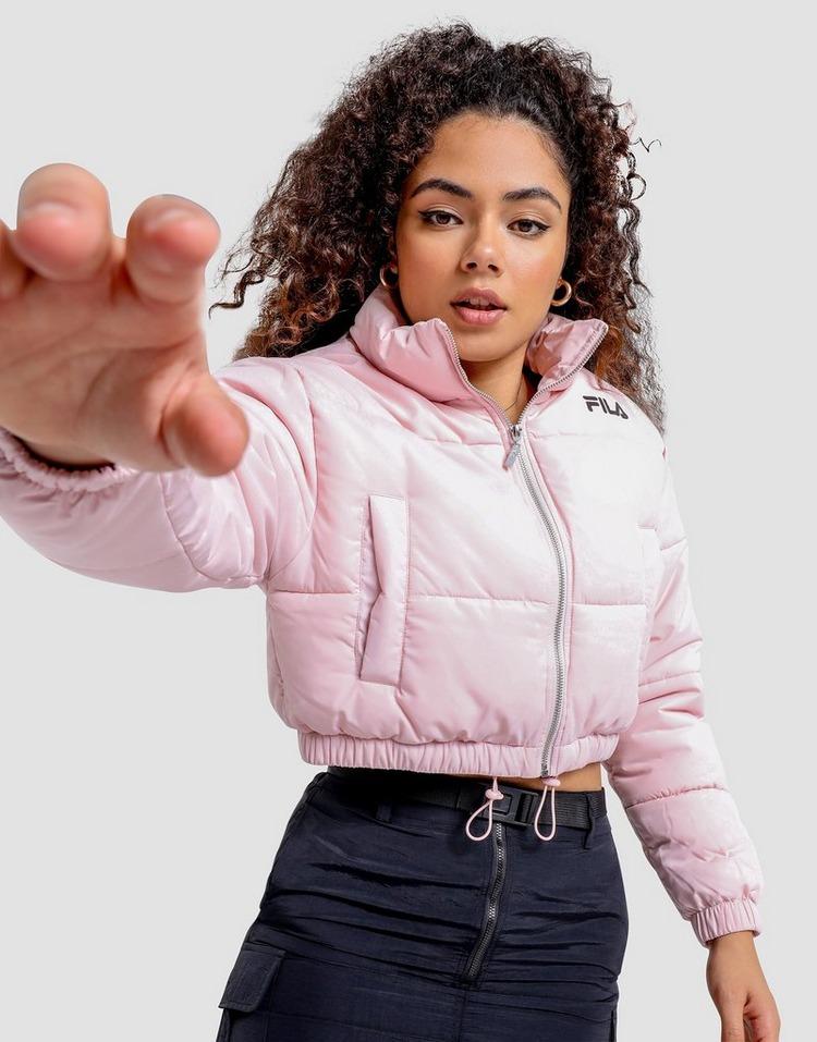 Fila Crop Puffer Jacket Womens
