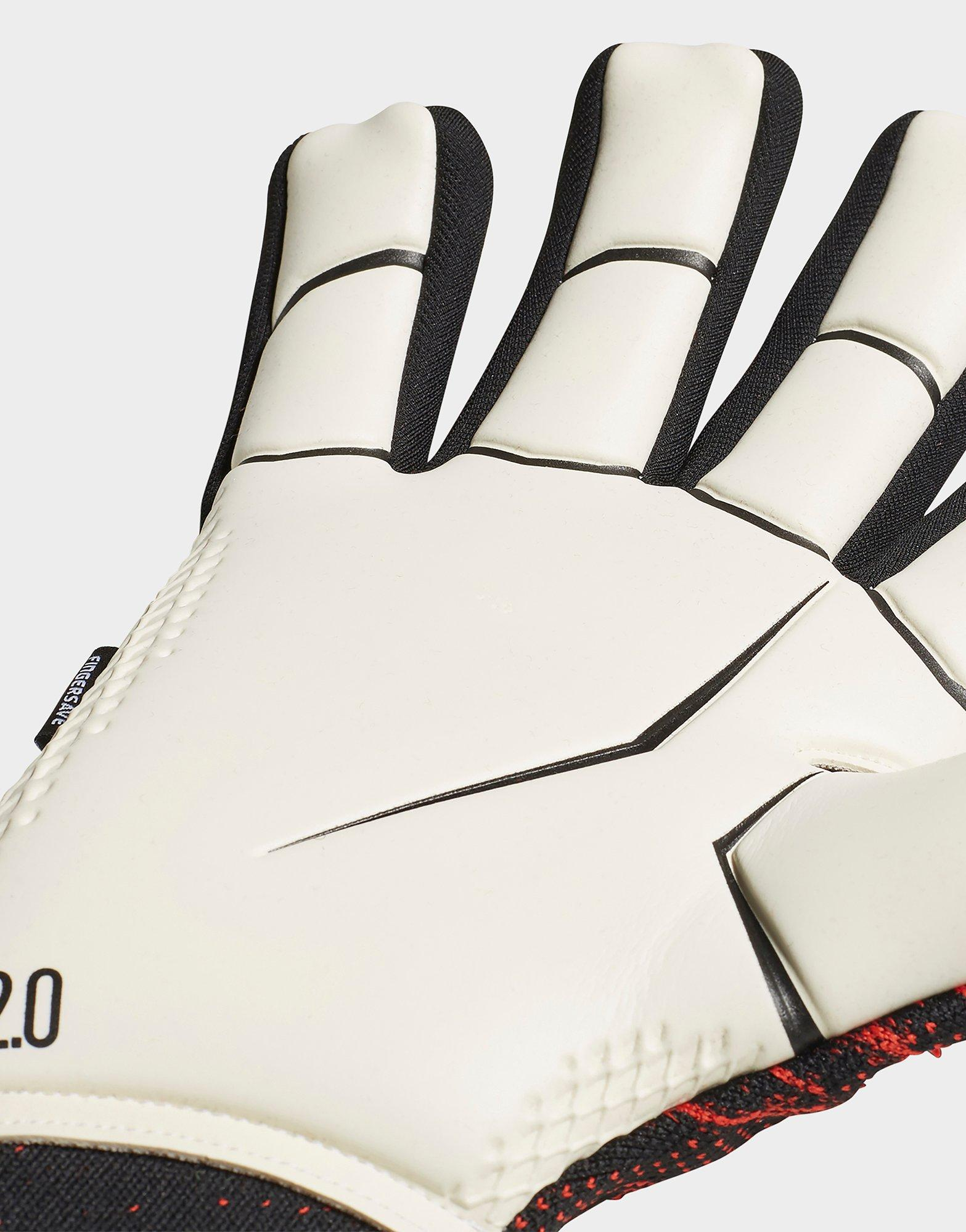 Predator 20 Training Gloves Black Mens in 2020 Adidas predator.