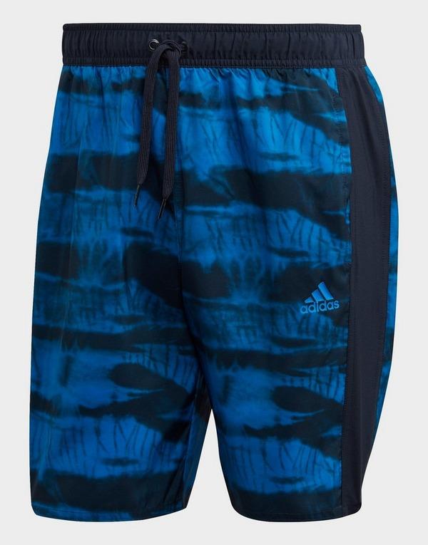adidas Boys 3 Stripe Swimming Boxers Board Shorts Swim Pants Junior