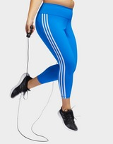 adidas Performance Believe This 3-Stripes 7/8 Leggings (Plus Size)