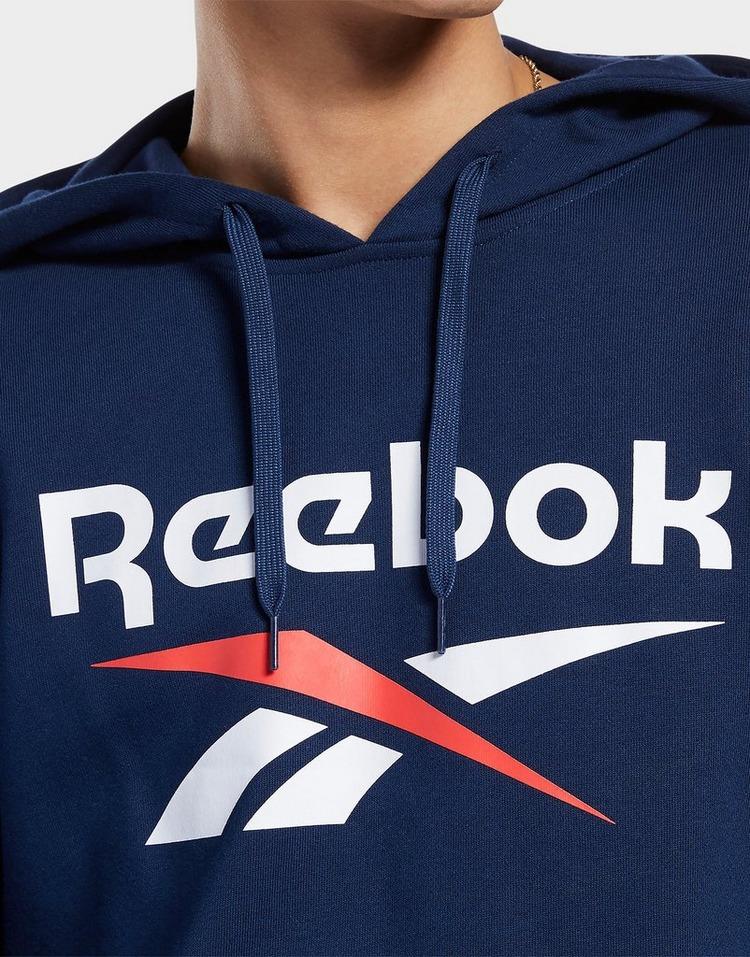 Buy Blue Reebok Classics Vector Hoodie | JD Sports