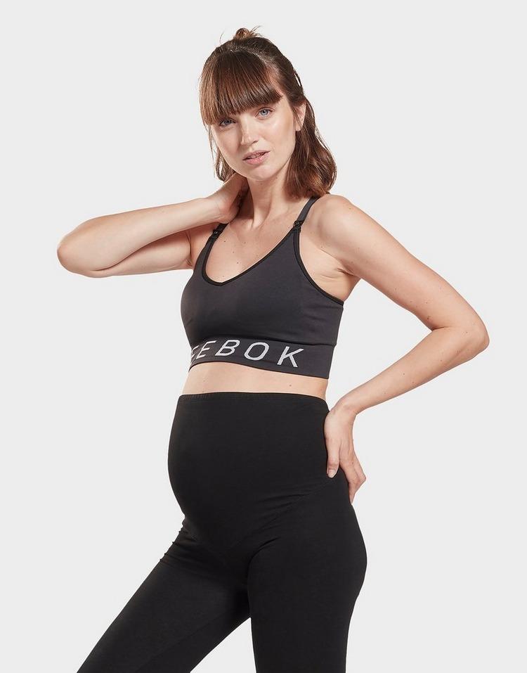 Reebok Studio Medium-Impact Maternity Bra