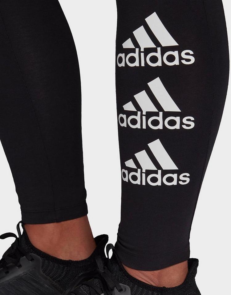 adidas Performance Stacked Logo Leggings (Plus Size)