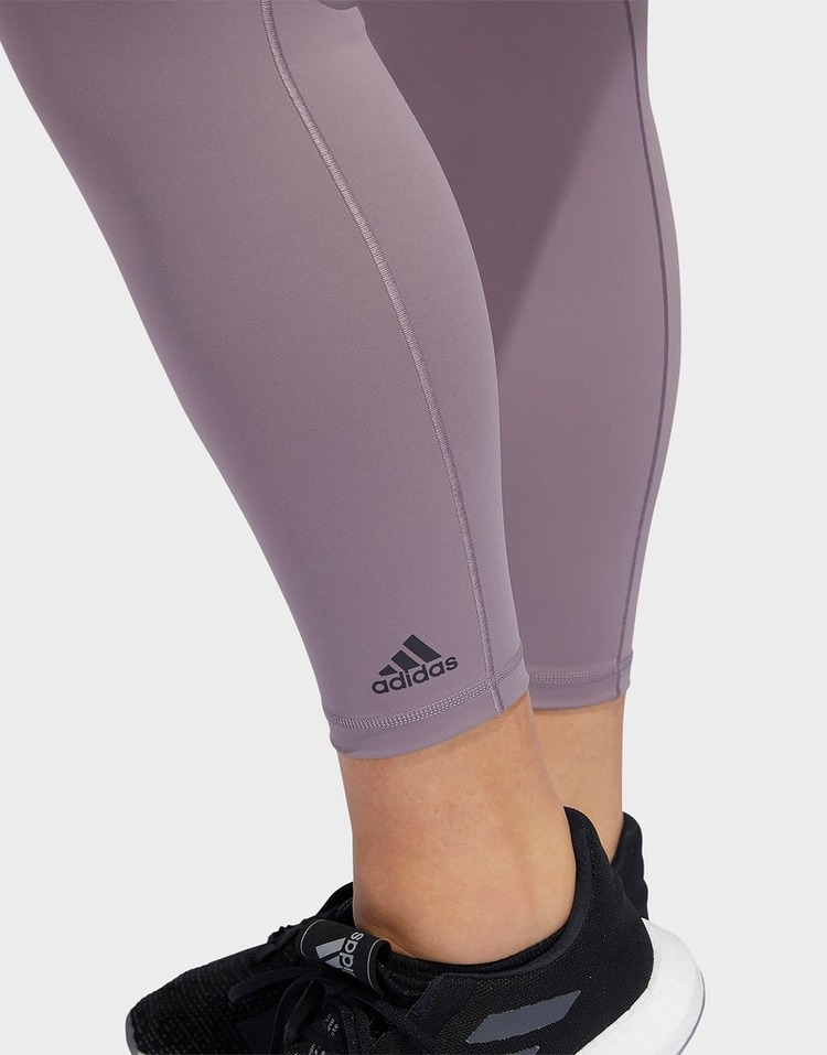 adidas Performance Believe This Solid 7/8 Leggings (Plus Size)