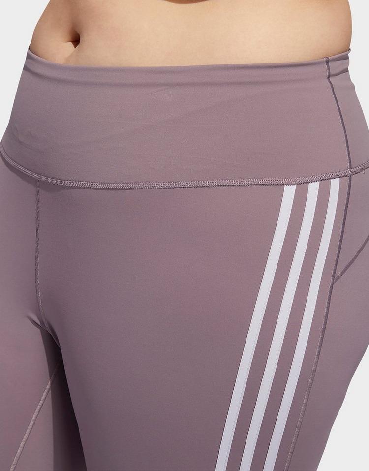 adidas Performance Believe This 3-Stripes 7/8 Leggings (Plus Size)