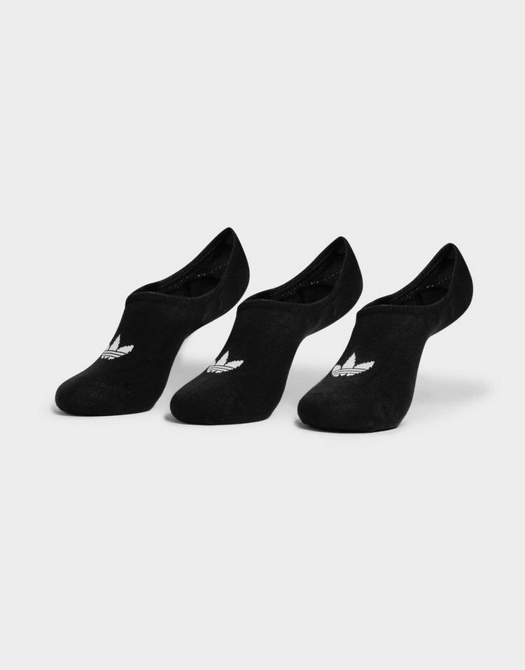 adidas Originals 3 Pack No Show Low-Cut Socks