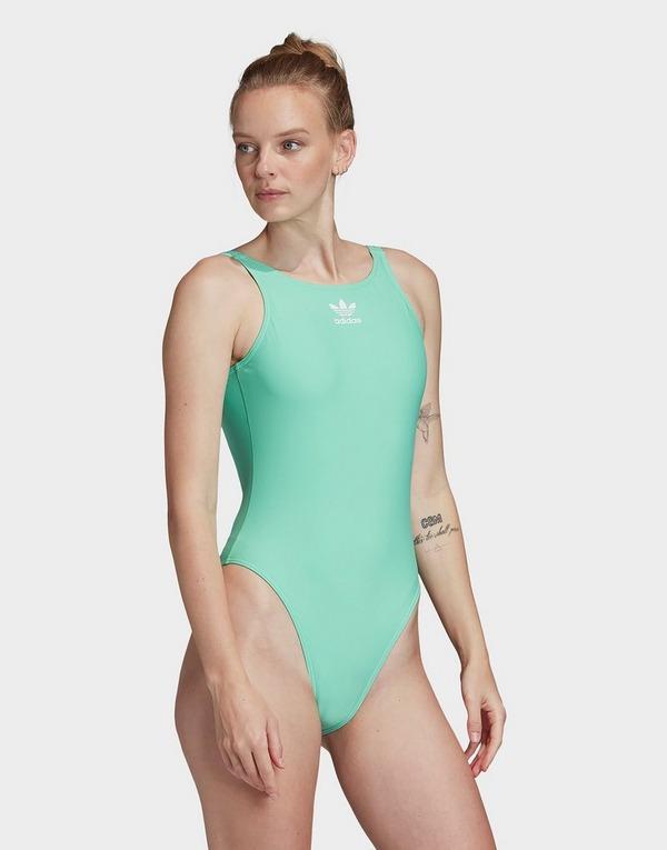 Buy adidas Originals Trefoil Swimsuit | JD Sports