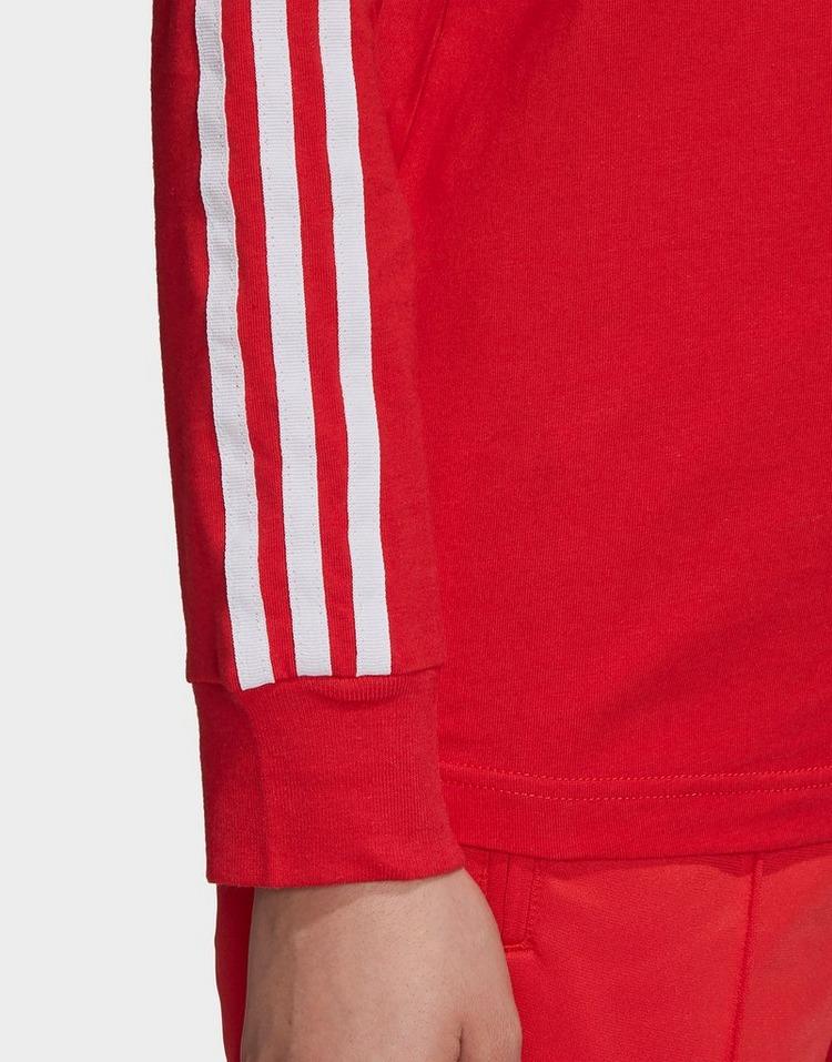 adidas Originals 3-Stripes Long-Sleeve Top