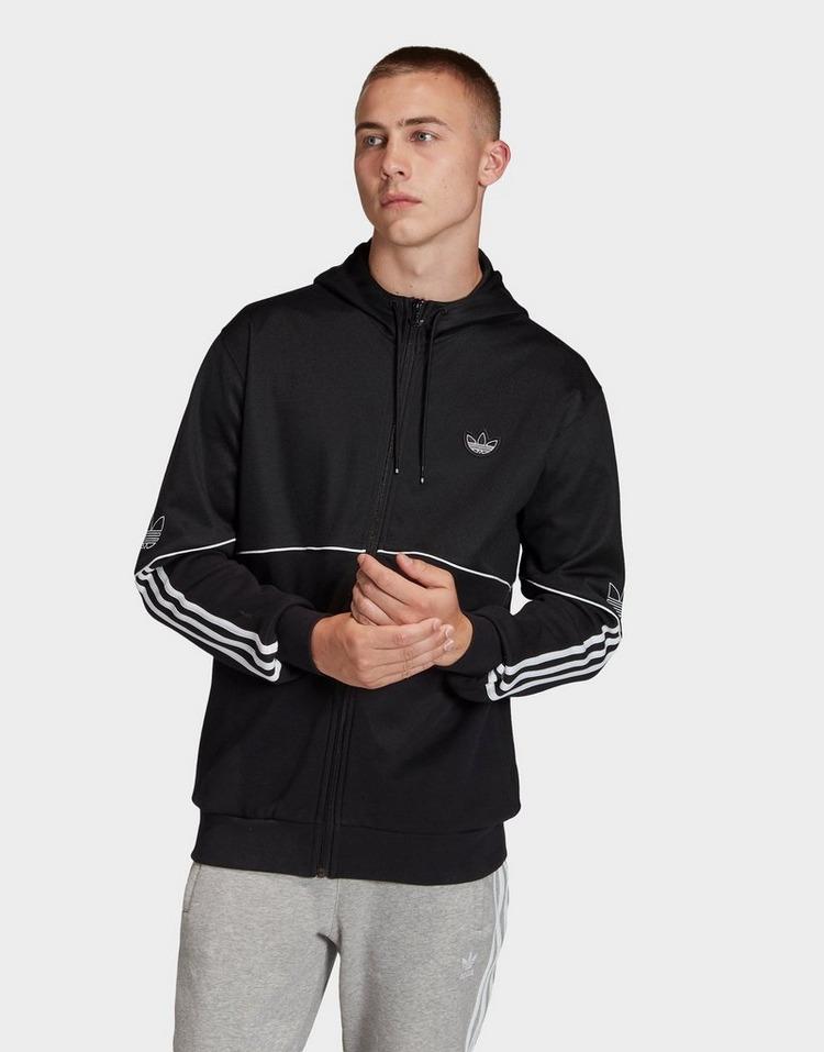Buy Black adidas Originals Outline Hoodie | JD Sports