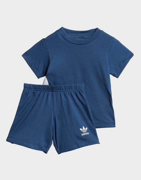 adidas Originals Big Trefoil Shorts Tee Set
