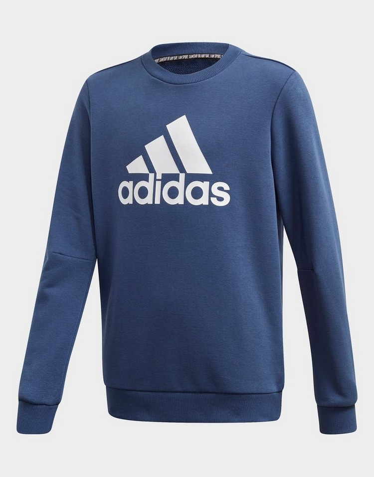 adidas Performance Kinder Freizeit T Shirt Must Haves Badge of Sport Shirt blau