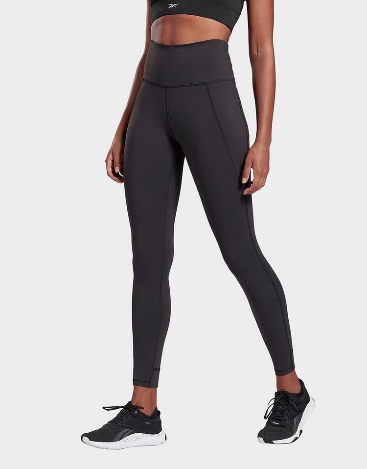 excepcional gama de estilos y colores nuevas imágenes de talla 7 Buy Black Reebok Lux High-Rise Tights 2.0 | JD Sports