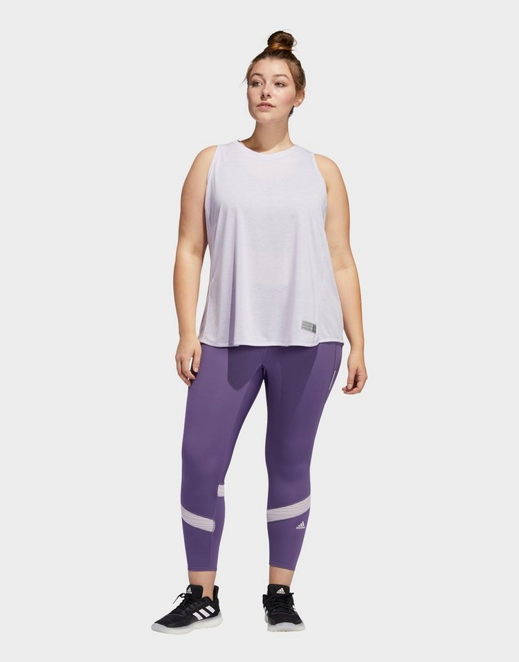adidas Performance How We Do 7/8 Leggings  (Plus Size)