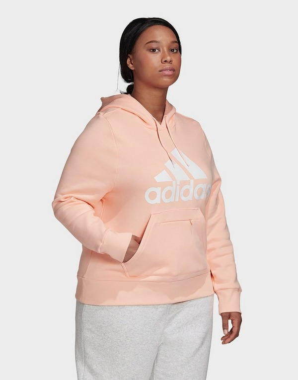 Sweat à capuche badge of sport rose Adidas Performance   La