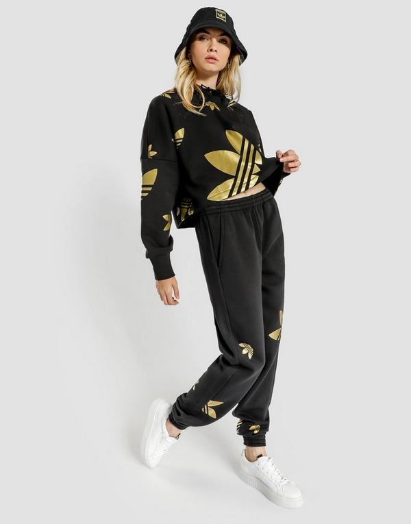 adidas Originals Tape Crop Overhead Hoody Shop online for