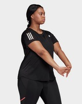 adidas Performance Own the Run T-Shirt (Plus Size)