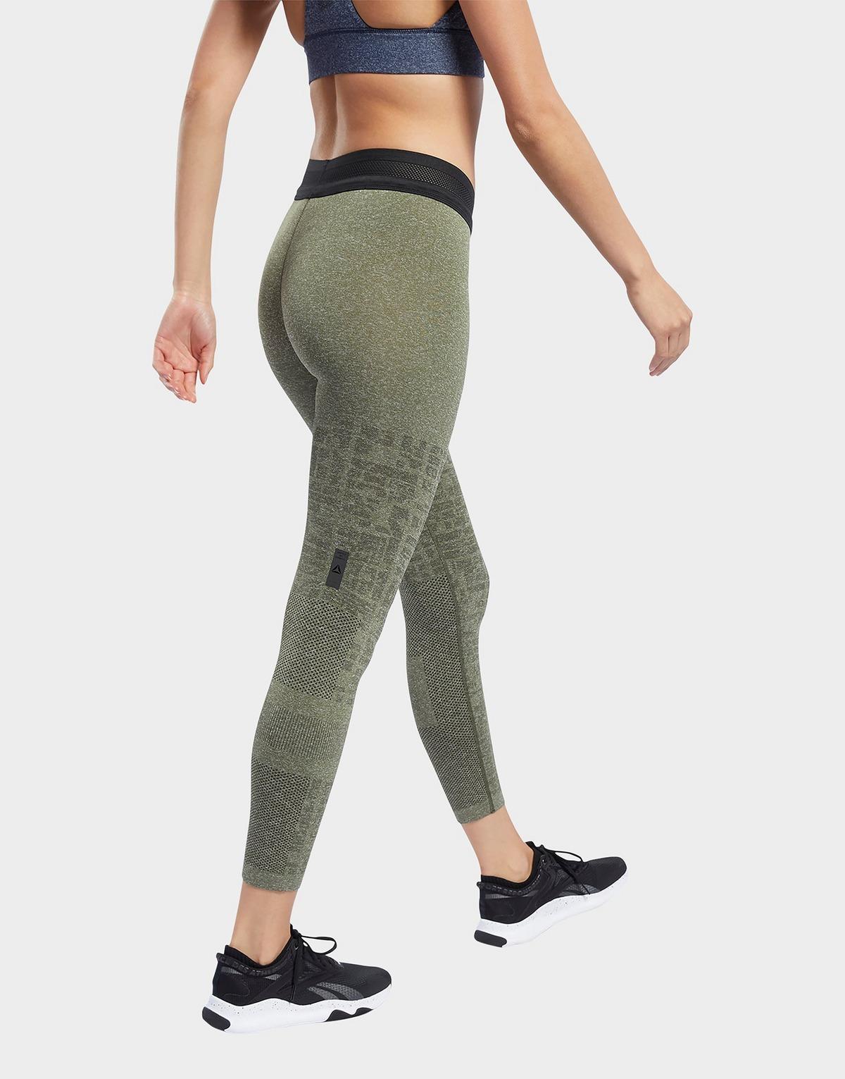 Reebok United By Fitness Myoknit Seamless 7/8 Leggings