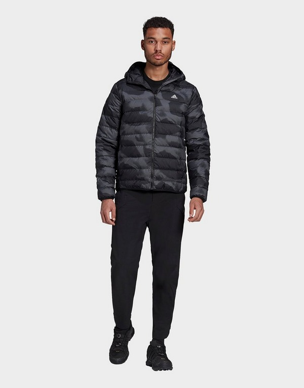adidas Performance Todown Allover Print Hooded Down Jacket