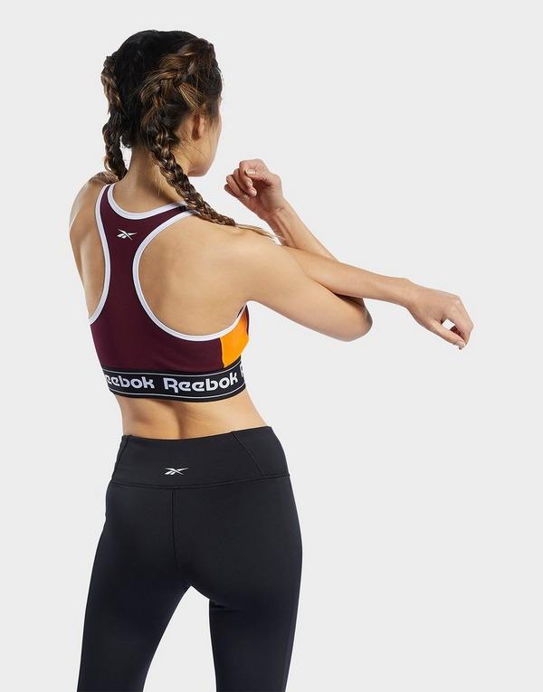 Reebok Training Essentials Linear Logo Low-Impact Sports Bralette