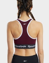 Reebok Training Essentials Linear Logo Low-Impact Sports Bralette