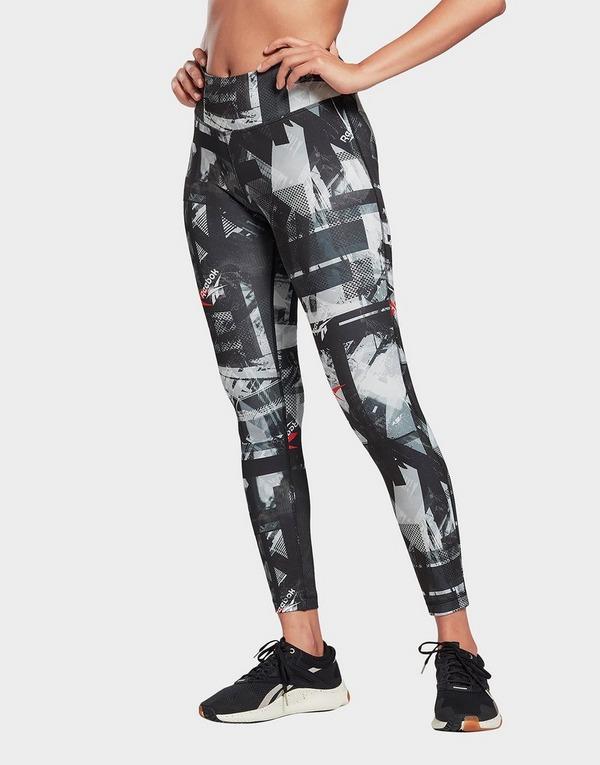 Reebok Workout Ready MYT Printed Leggings