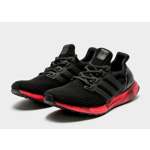 Details about adidas Ultra Boost 4.0 Mens Running Shoes Black Red Cushioned Trainers Sneakers