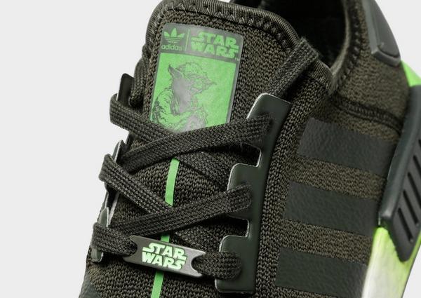 Buy Green adidas Originals NMD R1 Junior 'Star Wars'   JD Sports