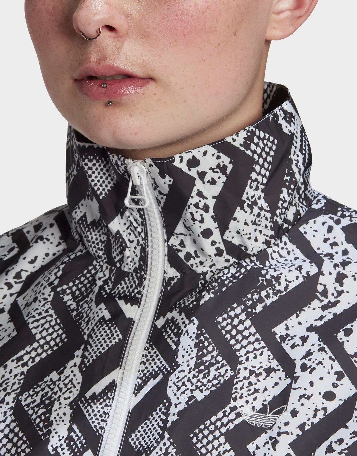 Adidas Originals Allover Print Track Top