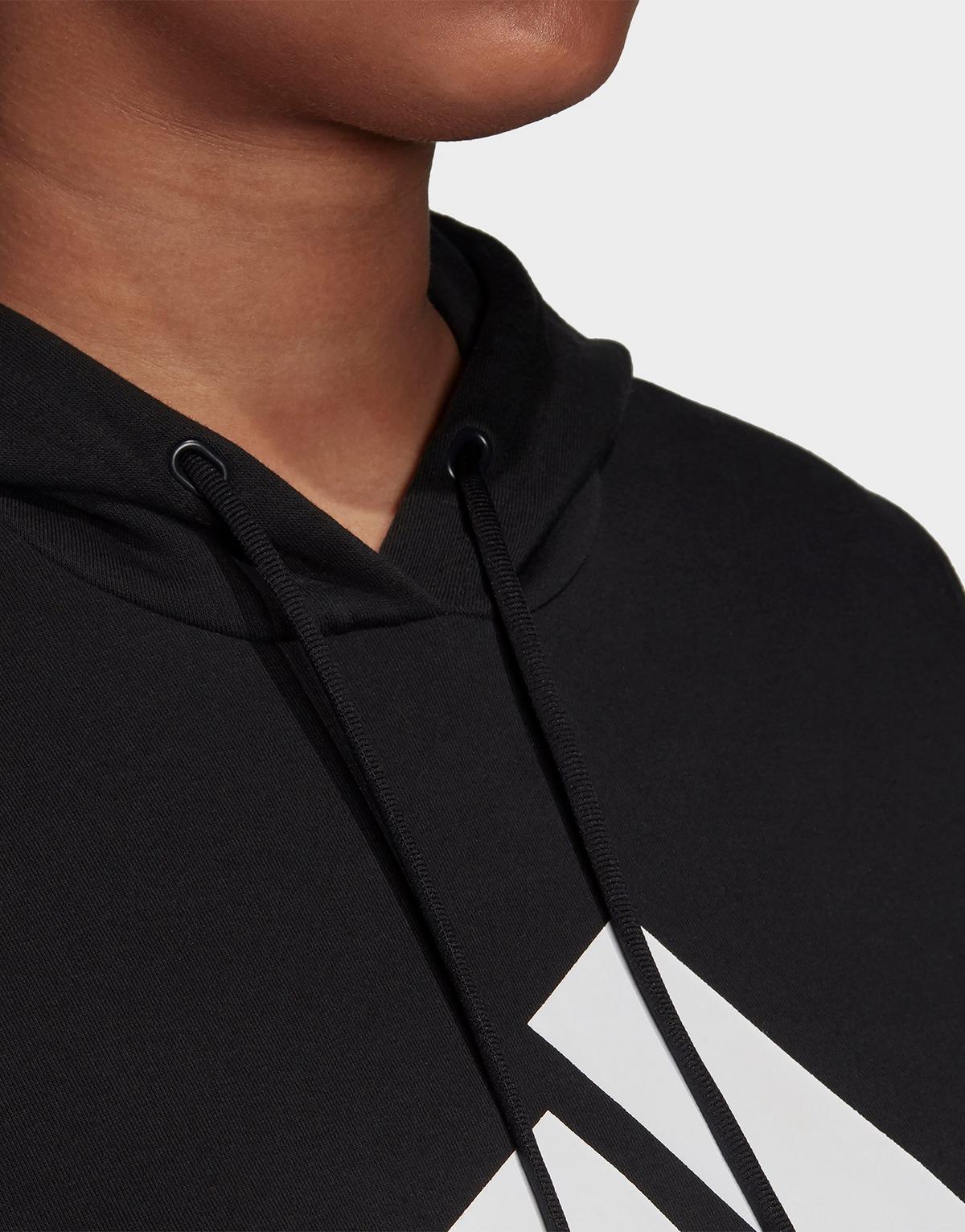 Adidas Performance Badge Of Sport Hoodie Fleece (plus Size)