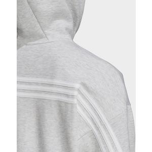 adidas Performance veste à capuche 3 stripes doubleknit full zip scuba