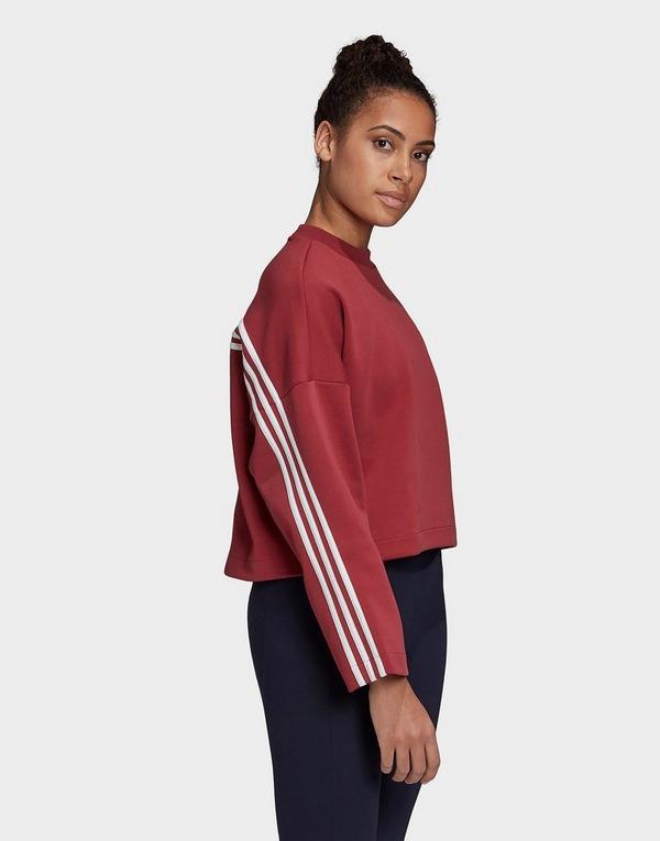 adidas Performance 3-Stripes Doubleknit Sweatshirt