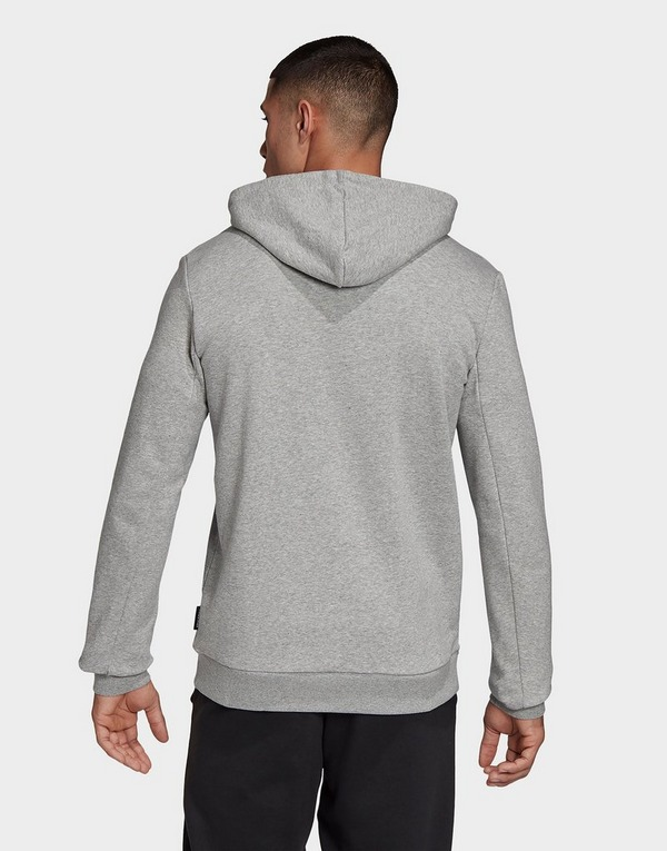 Acheter Grey adidas Performance sweat shirt à capuche badge
