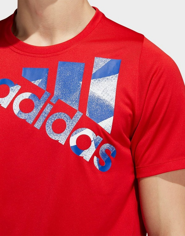 Acheter Red adidas Performance t shirt tokyo badge of sport