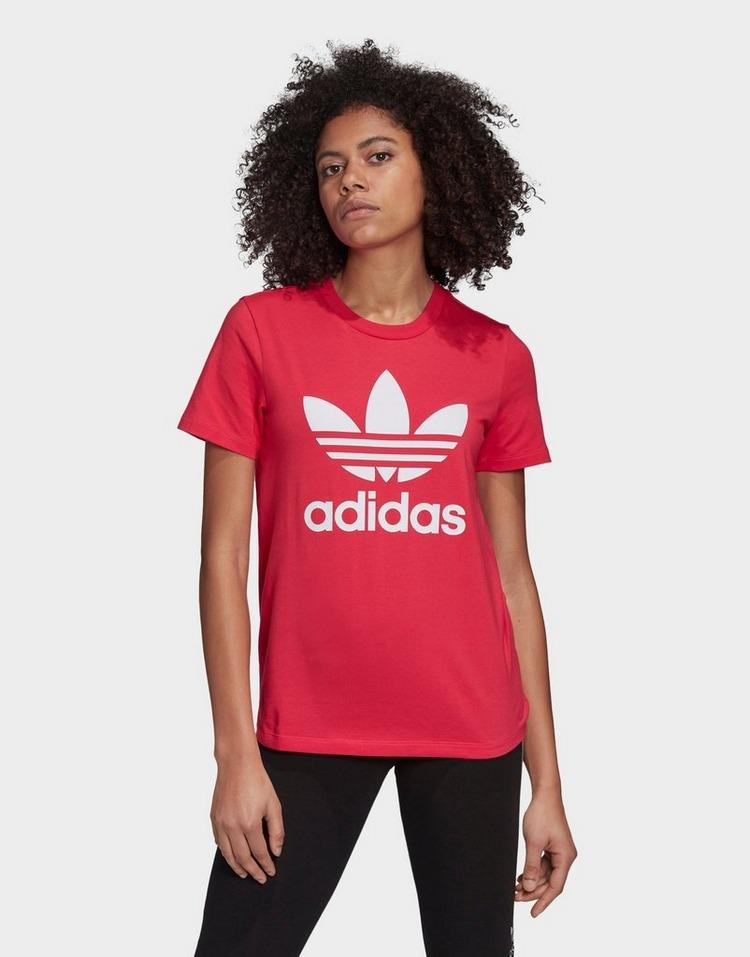 adidas Originals เสื้อแขนสั้น Trefoil
