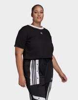 adidas Originals Crop Top (Plus Size)