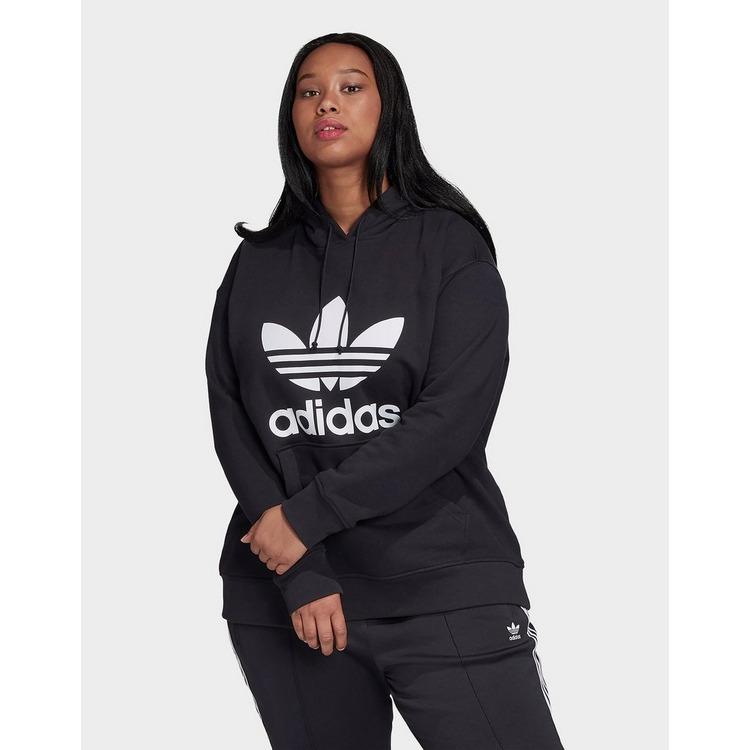adidas Originals Trefoil Hoodie (Plus Size)