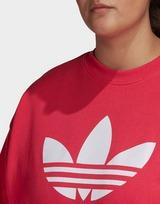 adidas Originals Trefoil Crew Sweatshirt (Plus Size)