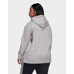 adidas Originals sweat shirt à capuche trefoil (grandes tailles)