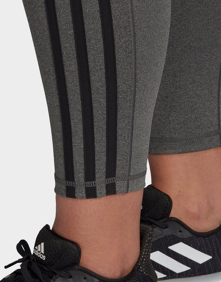 adidas Believe This 3-Stripes 7/8 Leggings (Plus Size)