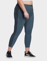 adidas Believe This 3-Stripes 7/8 Leggings (Plus Size)