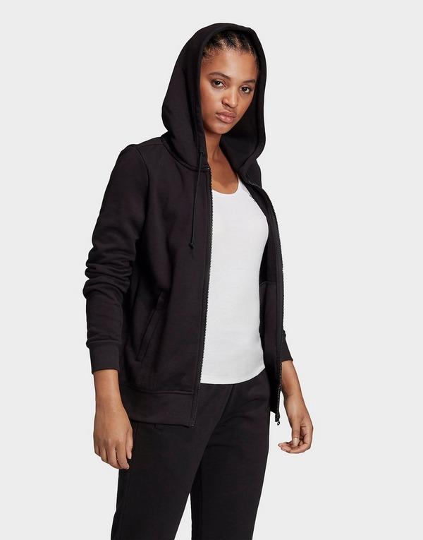 Acheter Black adidas Originals veste à capuche zippée