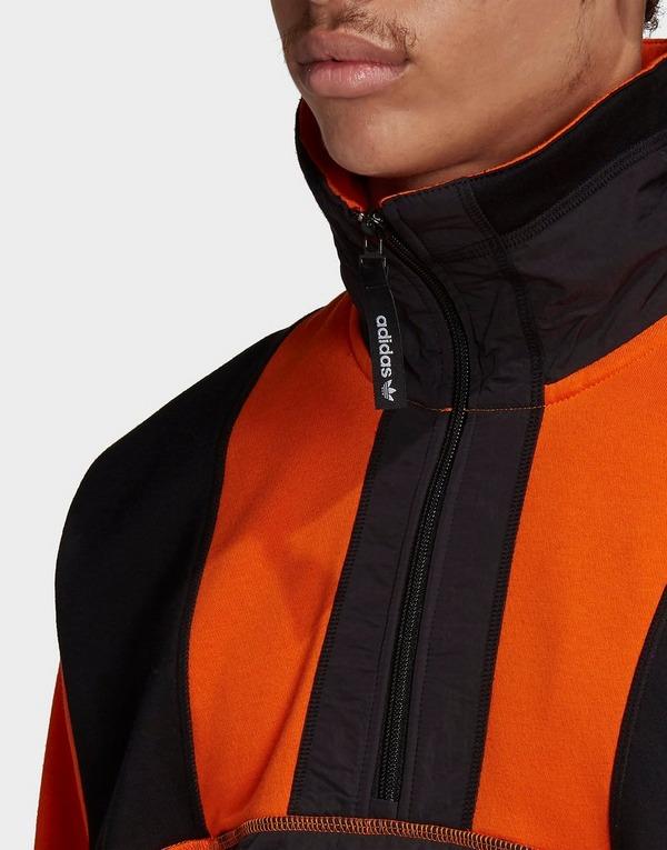 Acheter adidas Originals sweat shirt adventure field half zip