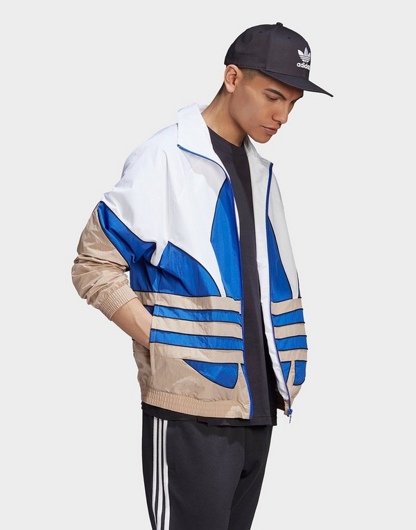 adidas Originals Big Trefoil Woven Track Top