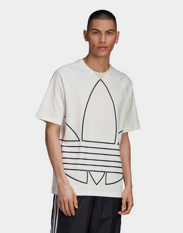 Acheter adidas Originals t shirt big trefoil outline | JD Sports