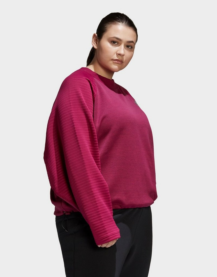 adidas Z.N.E. Athletics Crew Sweatshirt (plus size)