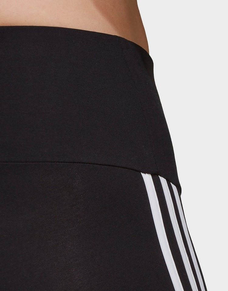 adidas Must Haves 3-Stripes Short Tights (Plus Size)