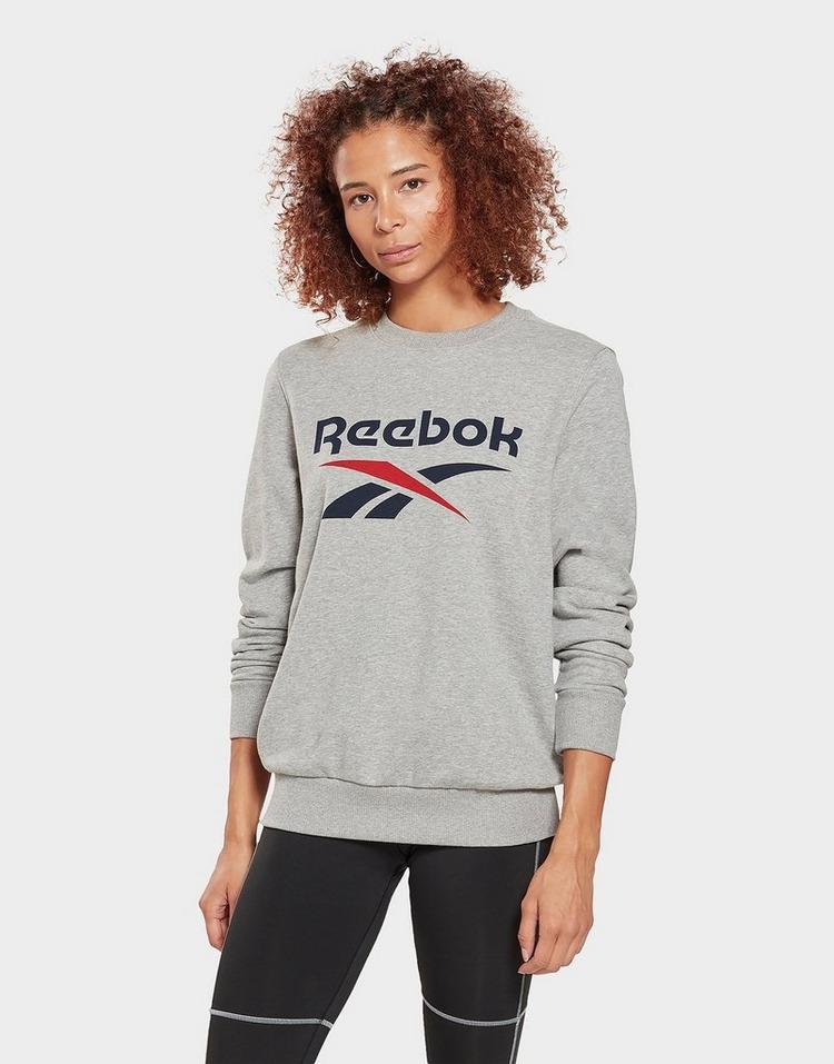 Reebok reebok identity logo french terry crew sweatshirt
